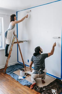 Malování ložnice